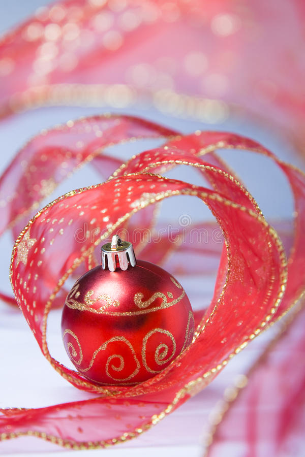 中看不中用的物品仍然圣诞节生活 图库摄影