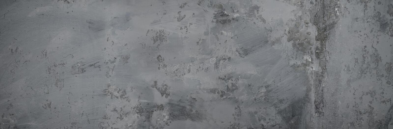 中立灰色背景 混凝土墙难看的东西纹理  免版税库存照片
