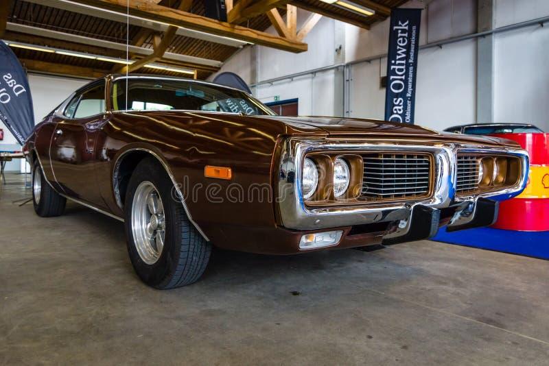 中等大小汽车推托充电器B身体, 1971年 免版税库存照片