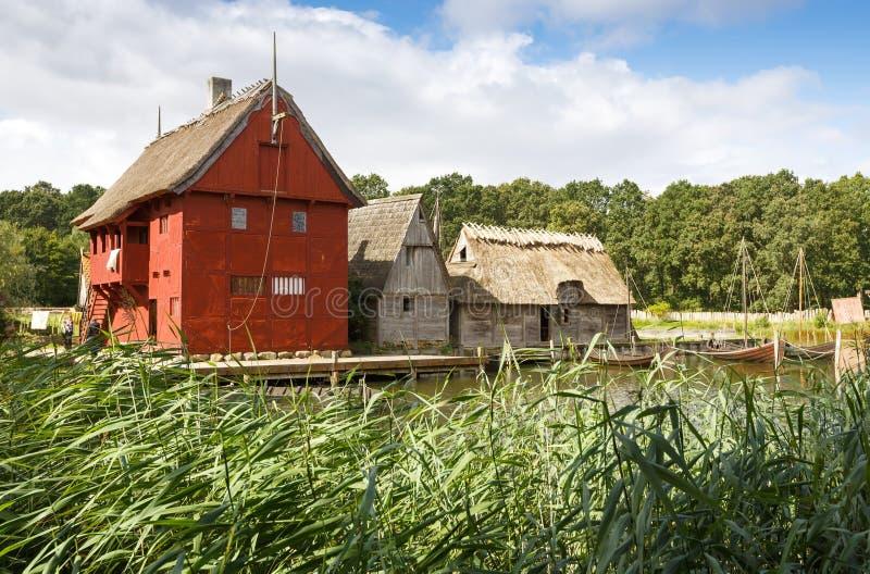 中间年龄在丹麦集中 免版税库存图片