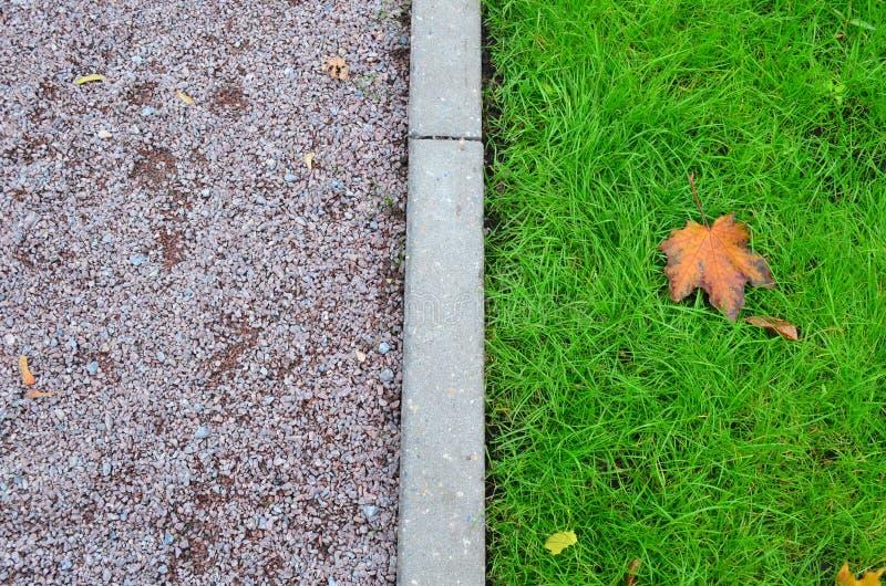 中间的秋天 库存照片
