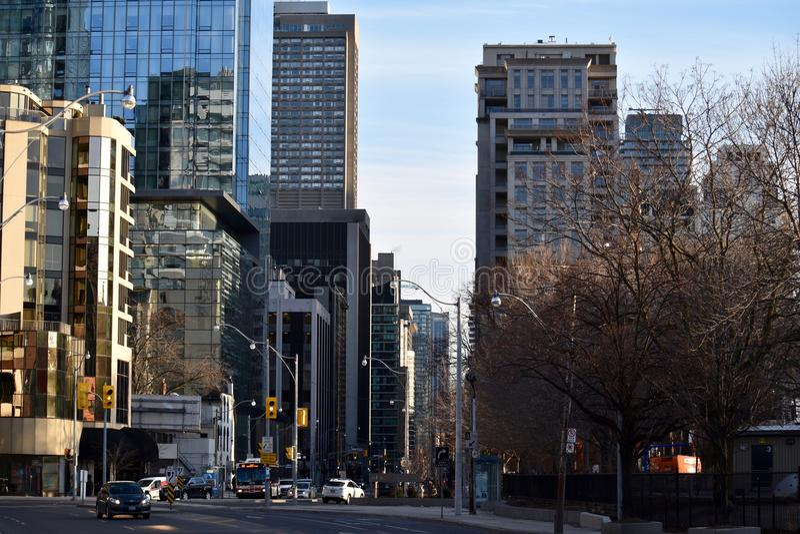 中间地区多伦多加拿大 图库摄影