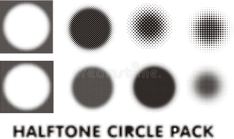 中间影调圈子组装设计元素 免版税库存图片