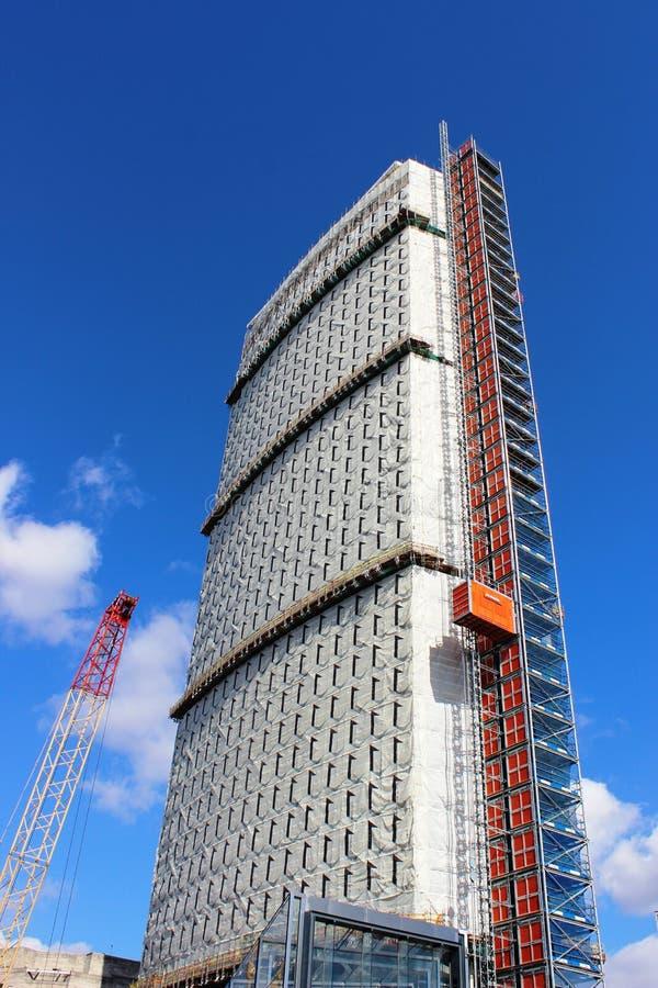 中间点大楼,伦敦的再开发 免版税库存照片