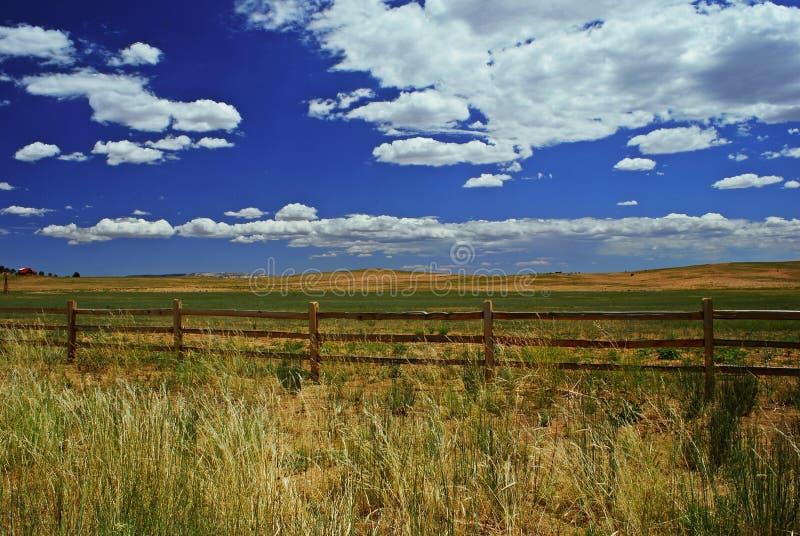 中间西部大农场 库存照片