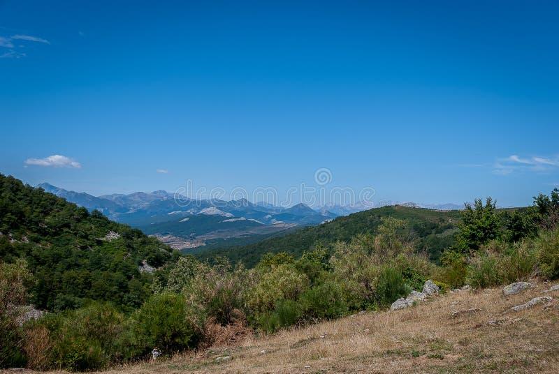 丰特斯Carrionas国立公园的风景  帕伦西亚 图库摄影