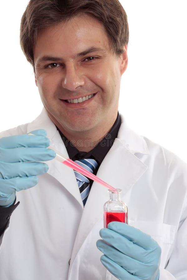 临床配药研究 库存照片