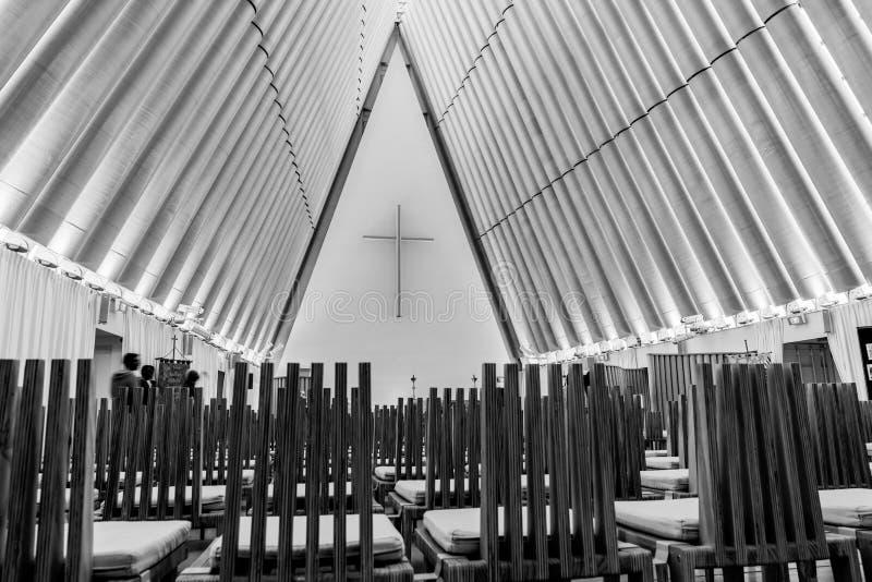 临时建筑的创造性的建筑学 免版税库存照片