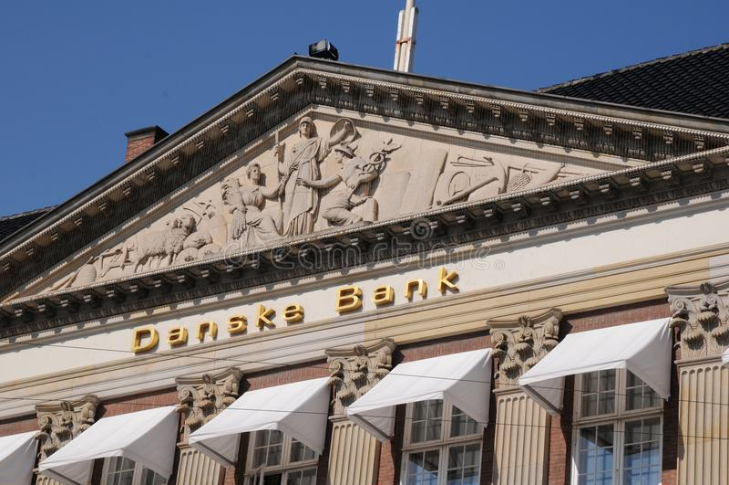 丹斯克银行 图库摄影