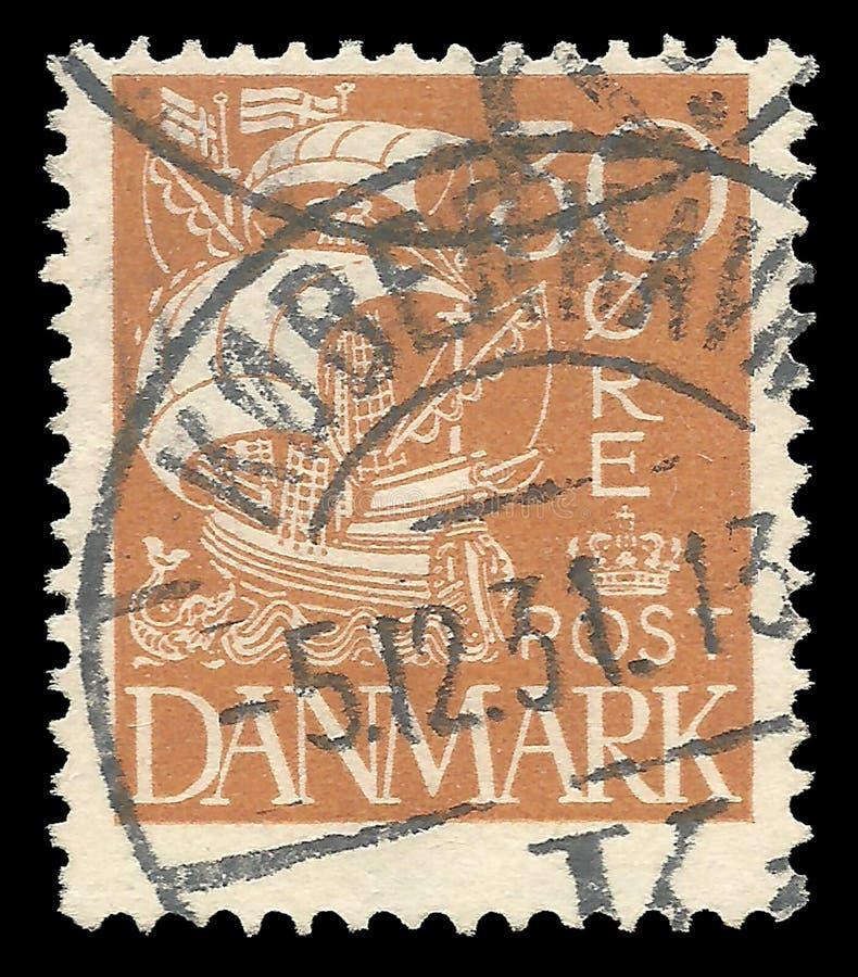 丹麦、冠和冠状头饰 免版税库存图片