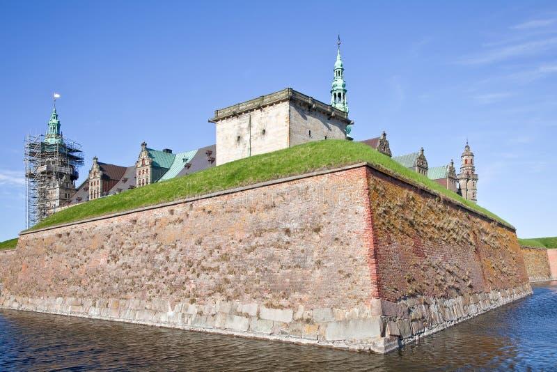 丹麦。哈姆雷特城堡。Kronborg 免版税库存照片