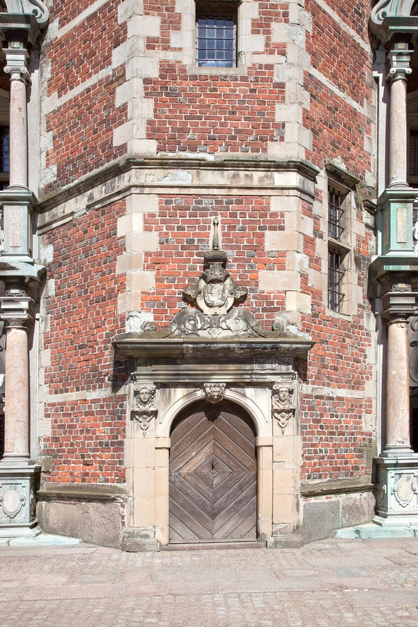 丹麦。菲特列堡城堡 库存照片