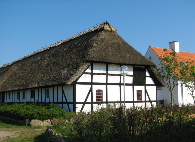 丹麦农场 库存图片