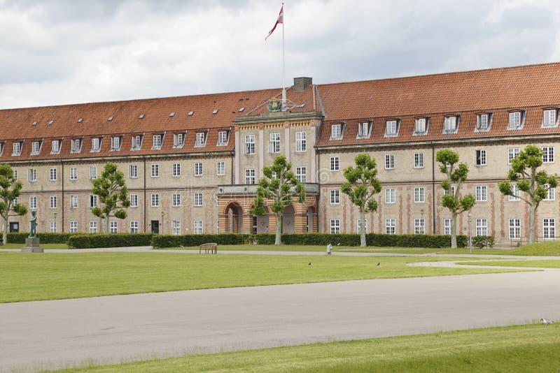 丹麦哥本哈根罗森堡军营 免版税库存照片