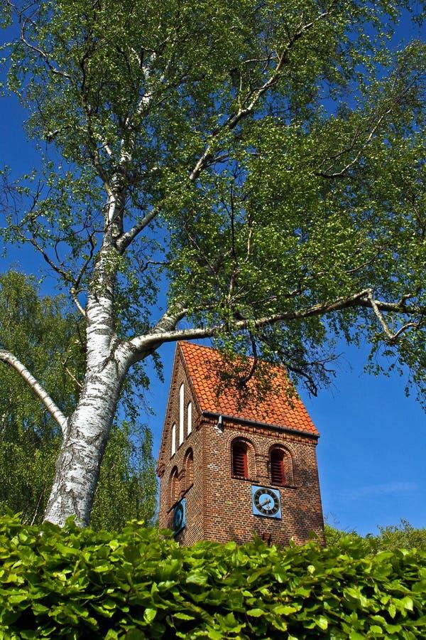 丹麦教堂 库存照片