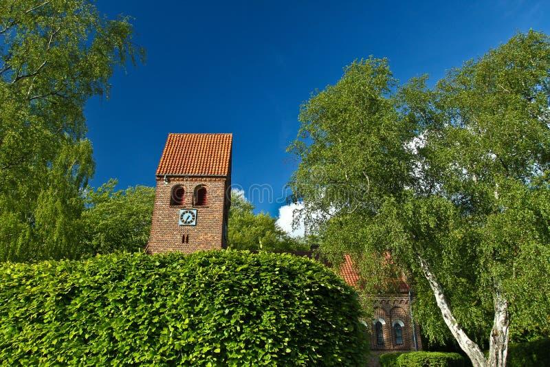 丹麦教堂 库存图片