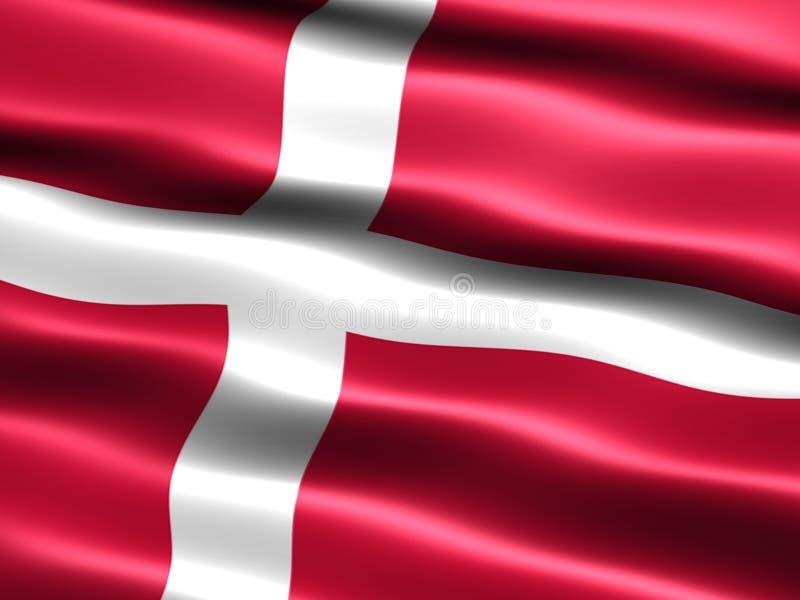 丹麦标志 皇族释放例证