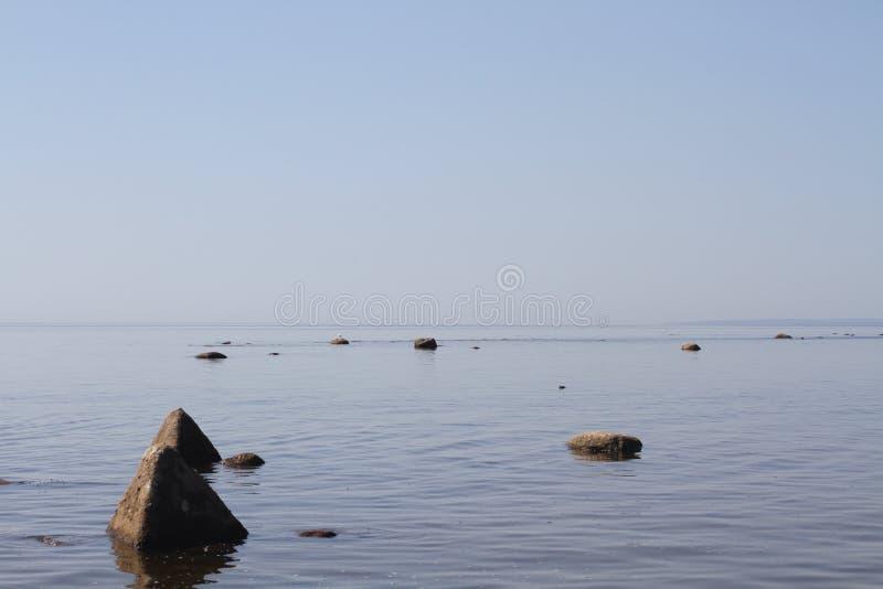 丹麦海岛湖使通配本质海运小的潮汐wadden的水环境美化 湖雪崩的表面 乡下自然秀丽 库存图片