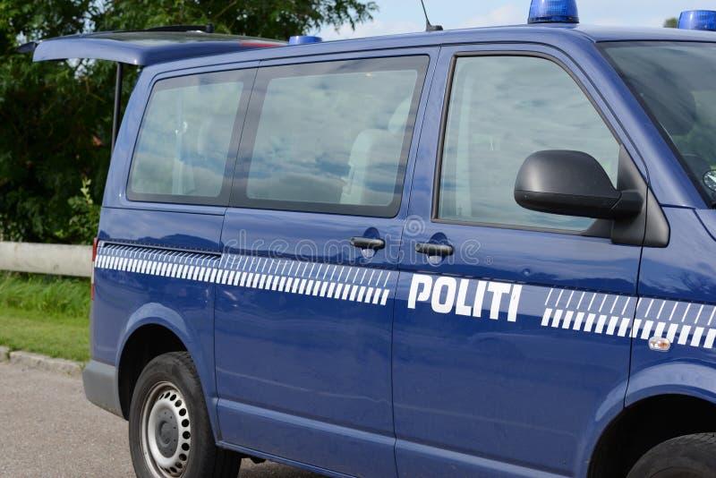 丹麦警察 库存图片
