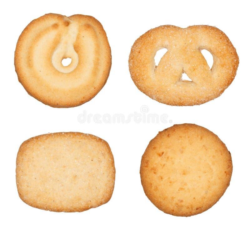 丹麦语的曲奇饼 库存照片