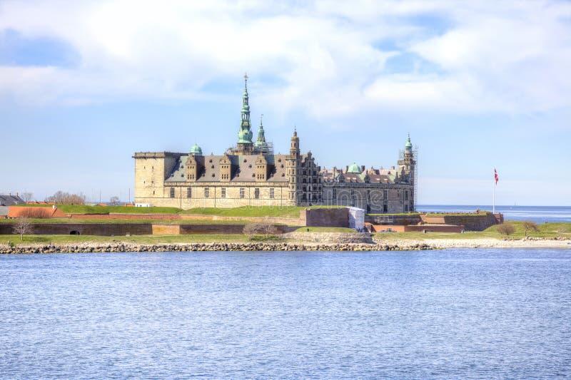 丹麦 城堡丹麦菲特列堡 库存照片
