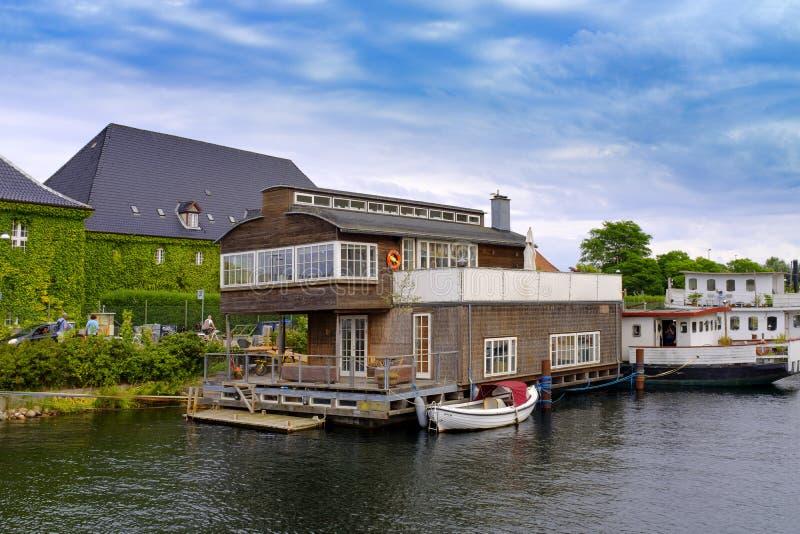 丹麦-西兰地区-哥本哈根-全景 免版税图库摄影