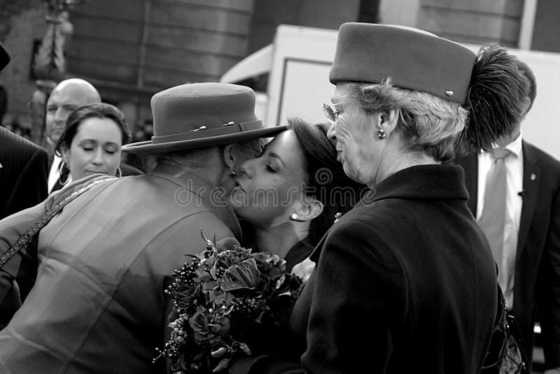 丹麦margrethe marie公主女王/王后 免版税图库摄影