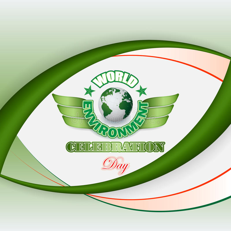 Download 为世界环境日,庆祝设计背景 向量例证. 插画 包括有 叶子, 背包, 森林, 公报, 生态, 环境, 绿色 - 72369088