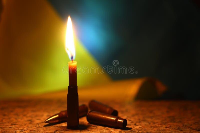 为乌克兰祈祷 说明俄国乌克兰战争 库存图片