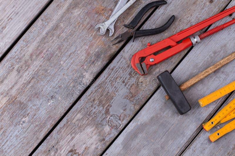 为修理和建筑的工具 库存图片