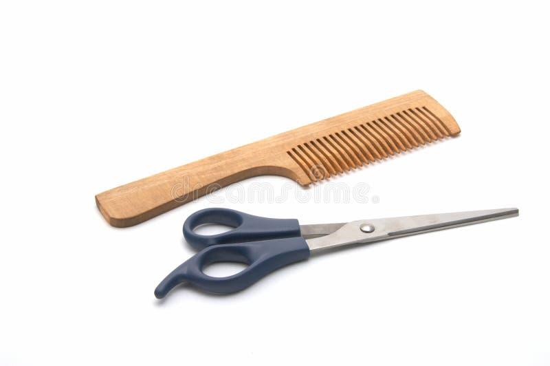为头发发型设置 库存照片