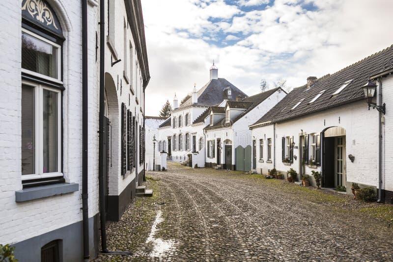 为它的白色房子已知的刺历史的城市 图库摄影