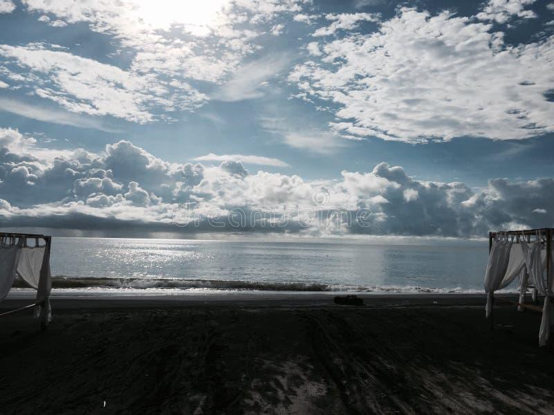 为海景准备条件 免版税库存图片