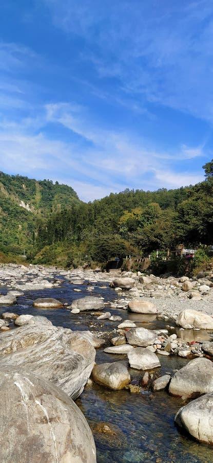 为自然爱好者德拉登印度 免版税库存照片