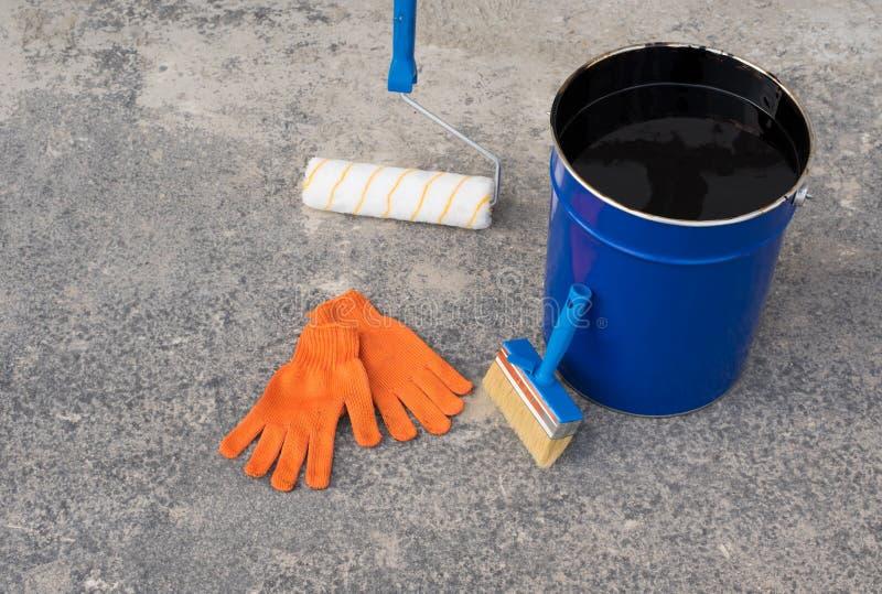 为防水的工具 免版税库存照片