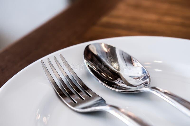为饭食准备 免版税库存照片