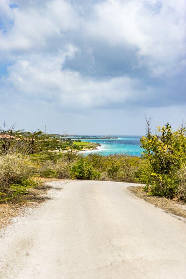 主任海湾库拉索岛景色 免版税图库摄影
