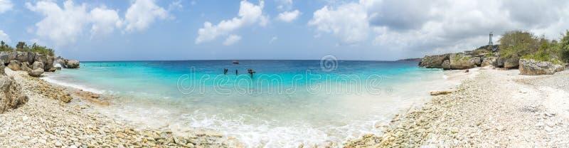 主任海湾库拉索岛景色 库存图片