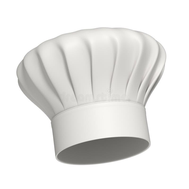 主厨查出的帽子图标 向量例证