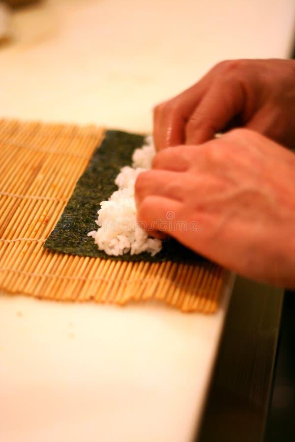 主厨滚寿司卷2 免版税库存照片