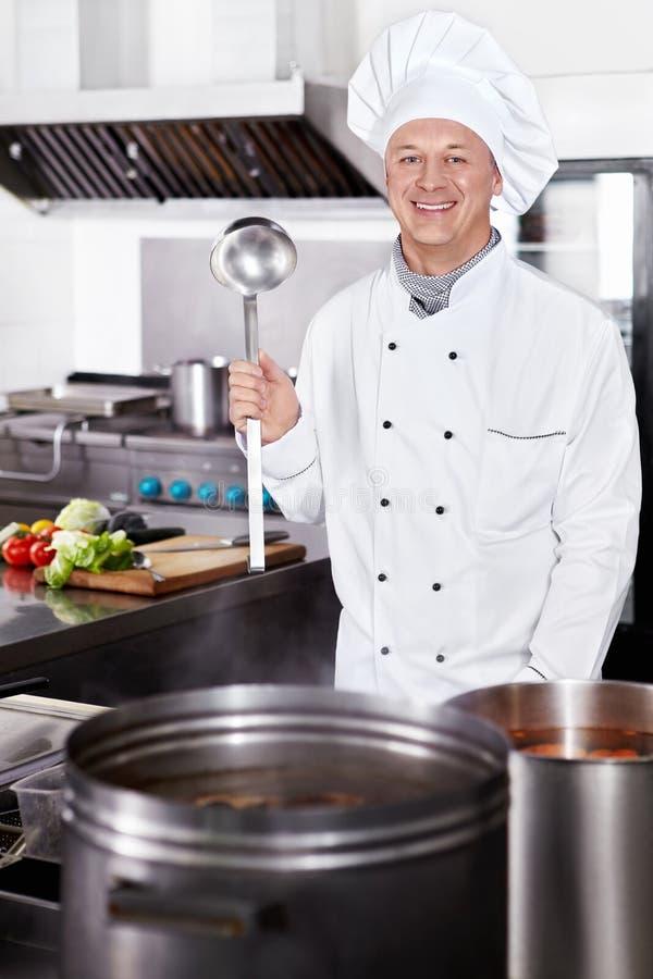 主厨烹调 图库摄影