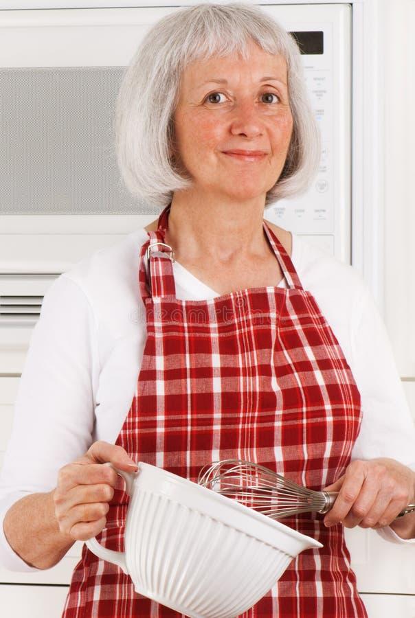 主妇前辈 免版税库存图片