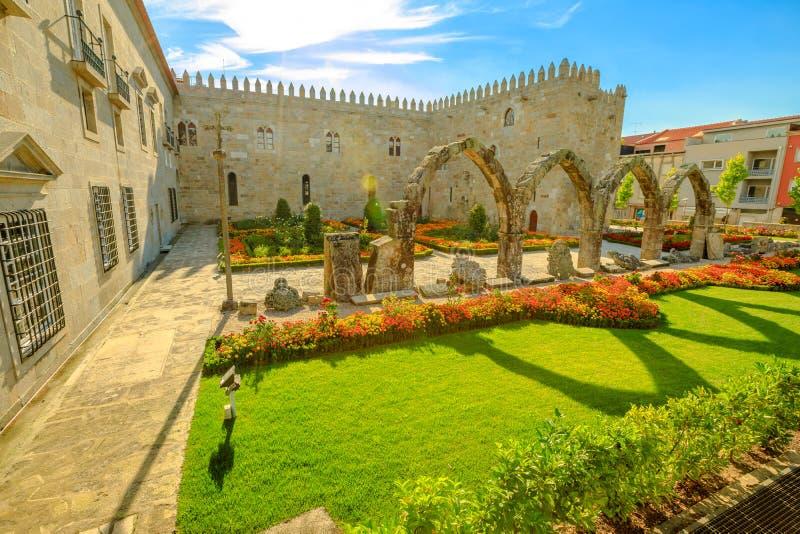 主教宫殿和拱廊 图库摄影