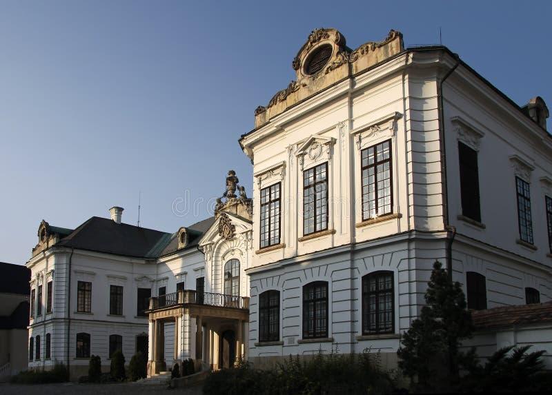 主教宫殿s veszprem 免版税图库摄影