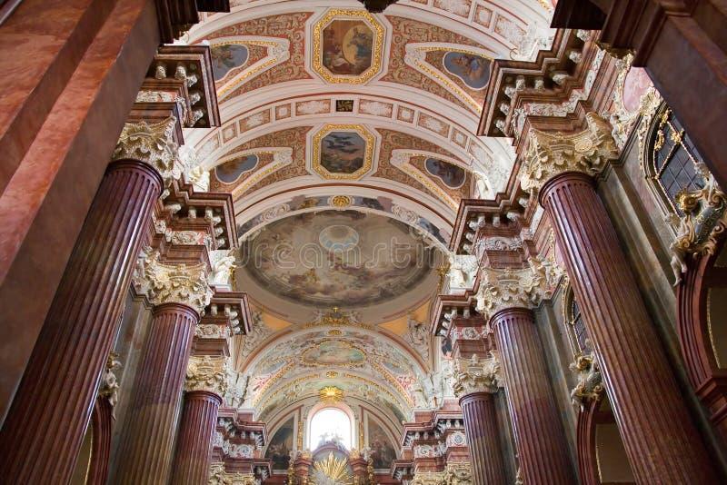 主教教会波兰波兹南st stanislaus 图库摄影