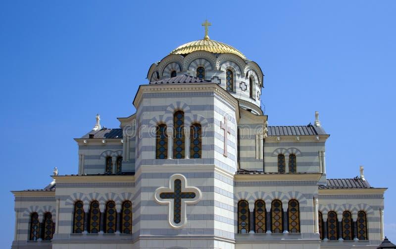 主教的座位s塞瓦斯托波尔vladimir 库存图片