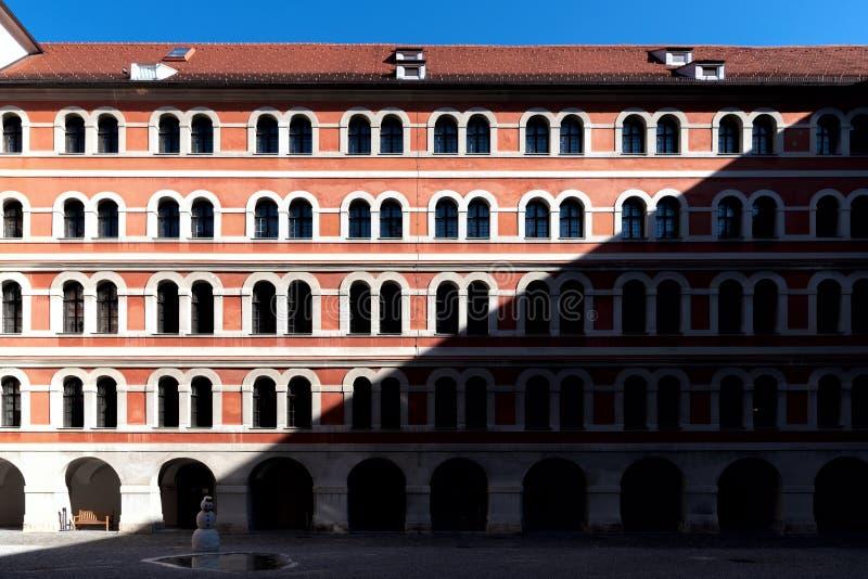 主教管区的博物馆-格拉茨-奥地利 免版税库存图片
