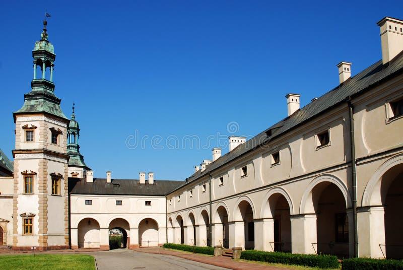 主教kielce宫殿波兰s 库存照片