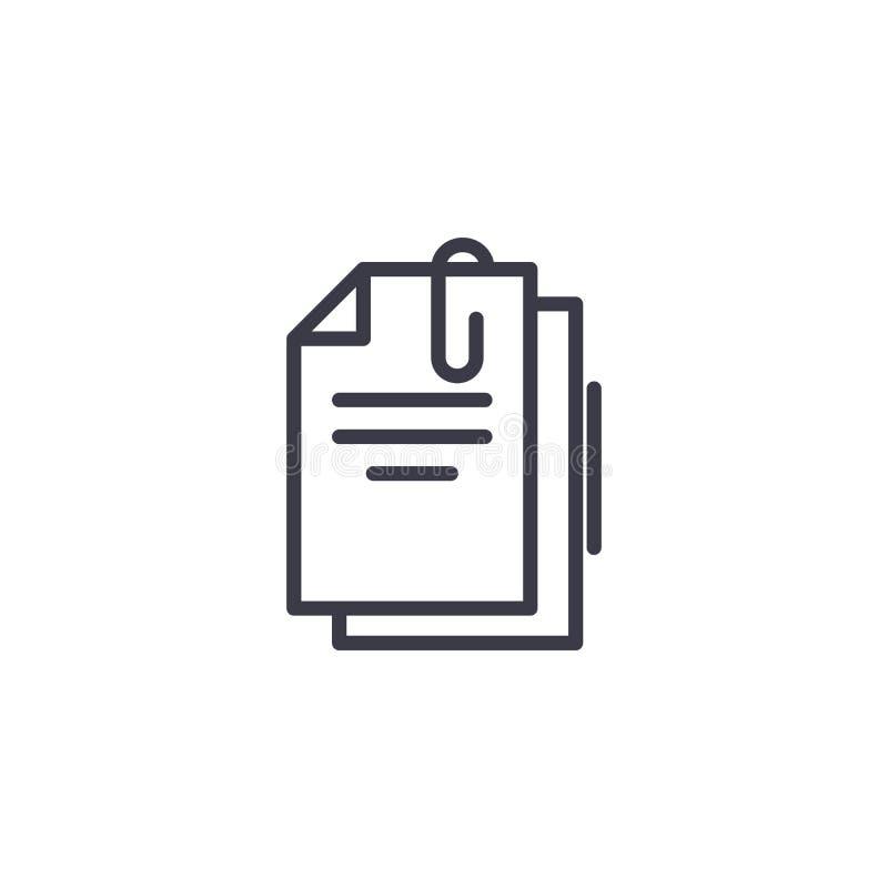 主要文件线性象概念 主要文件排行传染媒介标志,标志,例证 皇族释放例证