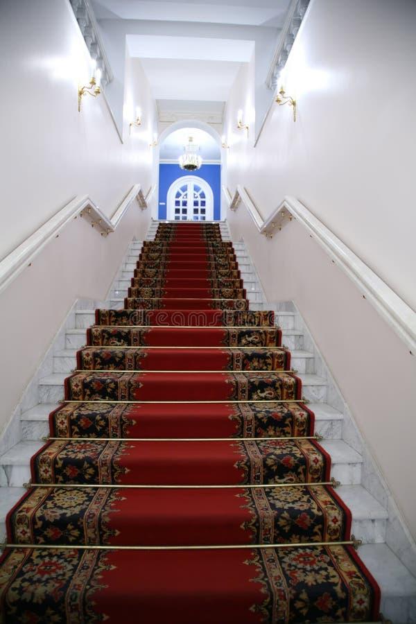 主要楼梯 免版税库存照片